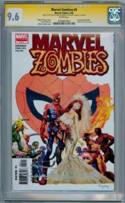 Marvel Zombies #5 CGC 9.6 Signature Series Signed Arthur Suydam Spider-man Wedding